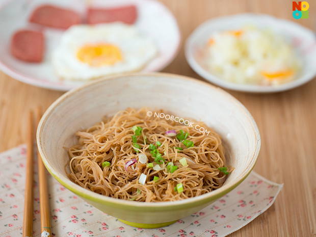 Fried Bee Hoon Recipe