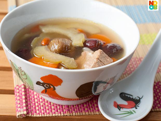 Bitter Gourd Soup Recipe