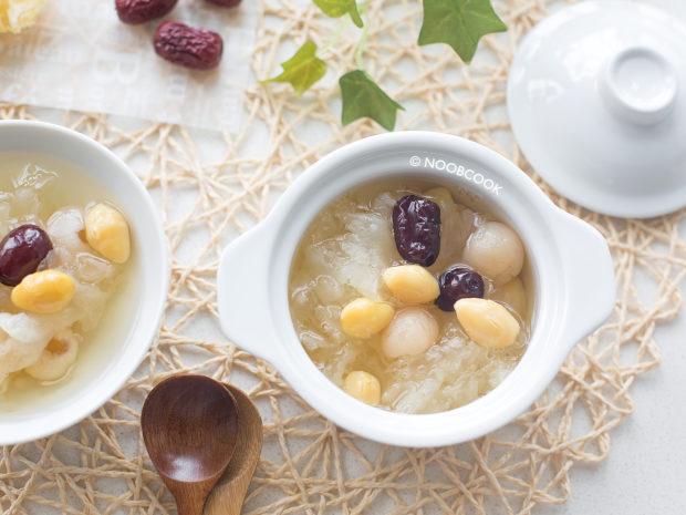 Snow Fungus Soup Dessert Recipe