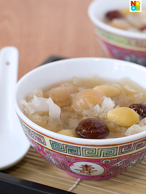 Snow Fungus Dessert Soup Recipe