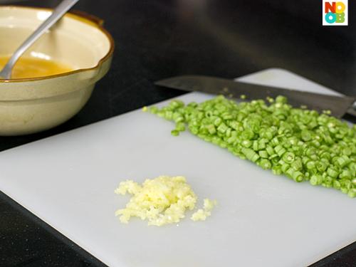Long Bean Omelette Recipe