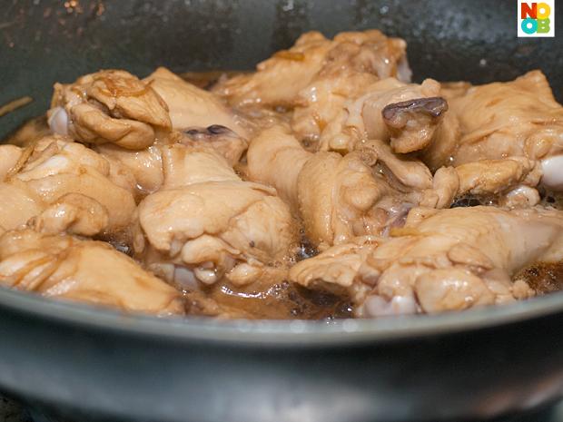 Sesame Oil Chicken Recipe