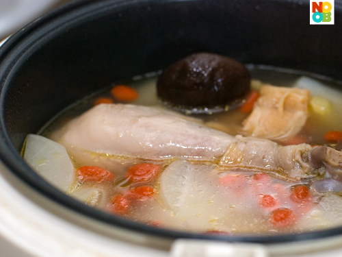 Chicken & Daikon Soup Recipe