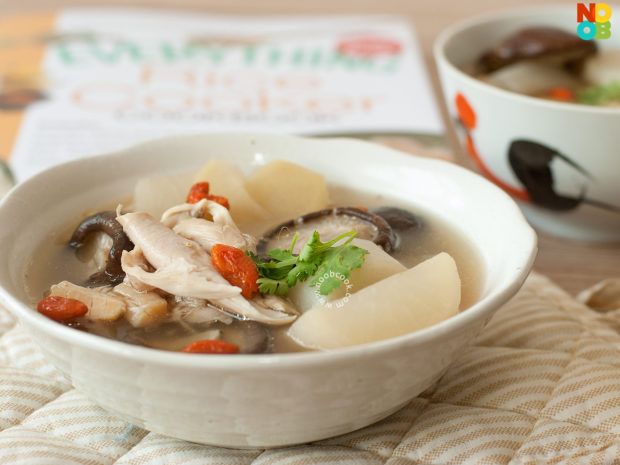Rice Cooker Chicken & Daikon Soup Recipe