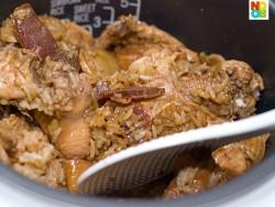 """""""Claypot"""" Chicken Rice (Rice Cooker Recipe)"""