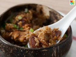 """Claypot"" Chicken Rice (Rice Cooker Recipe)"