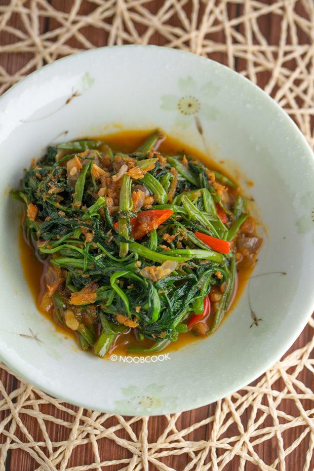 Sambal Kangkong Recipe