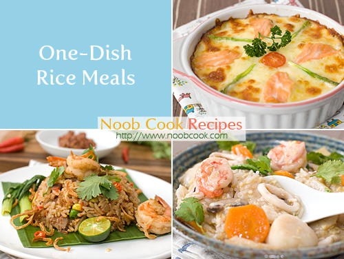 One-Dish Rice Meals