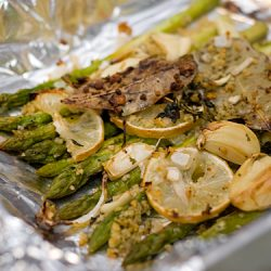 Roasted Asparagus with Garlic, Lemon & Thyme Recipe
