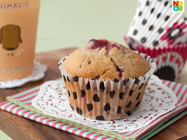 Cranberry Sauce Muffin Recipe
