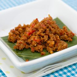 Hay Bee Hiam (Spicy Dried Shrimps Sambal) Recipe