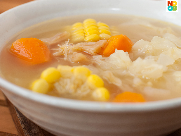 Chinese Cabbage Soup Recipe