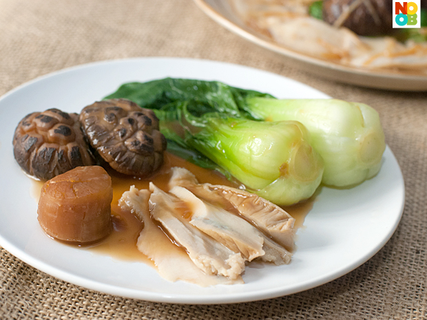 Braised Mushrooms with Abalone Recipe