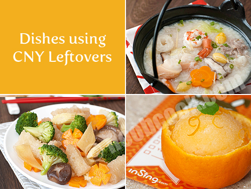 Recipes using Chinese New Year leftovers