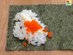 How to make California handroll (temaki)