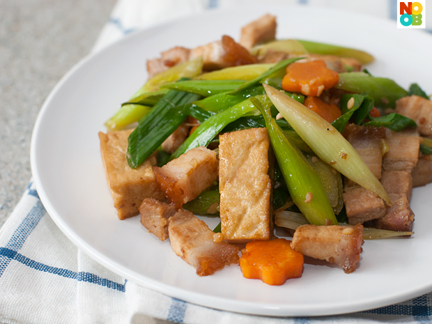 Stir-fry Leeks Recipe