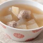 Winter Melon Soup with Pork Balls Recipe