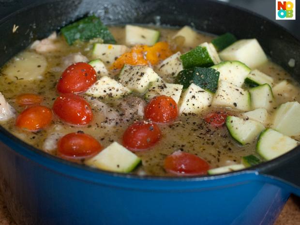 Baked Chicken Stew Recipe