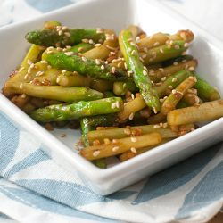 Asparagus in Sriracha Chilli