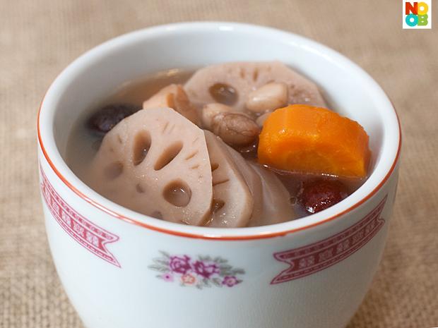 Lotus Root Soup Recipe