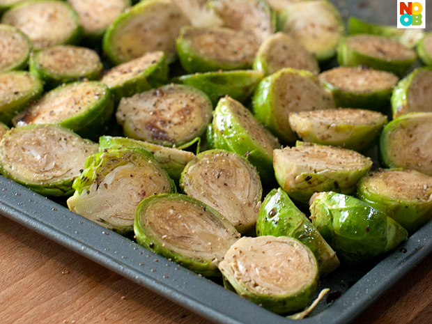 Roasted Brussels Sprout in Balsamic Vinegar Recipe