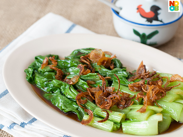Oyster Sauce Vegetables Recipe