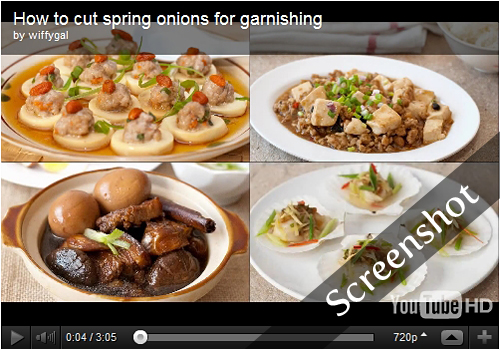 How to Cut Spring Onions