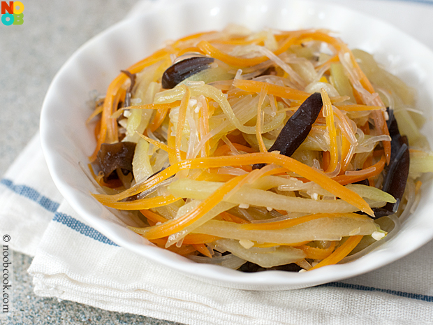 Chayote With Vermicelli