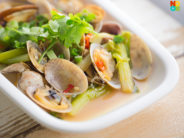 Chinese Steamed Clams Recipe