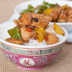 Chinese-style Black Bean Sauce Chicken