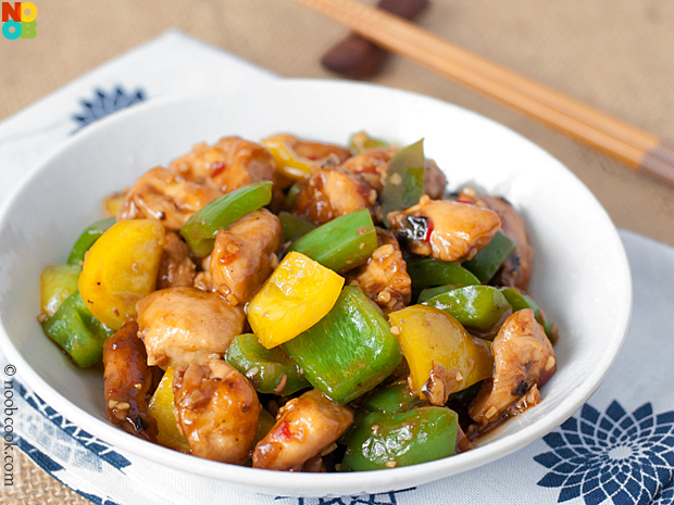 Chinese-style Black Bean Sauce Chicken
