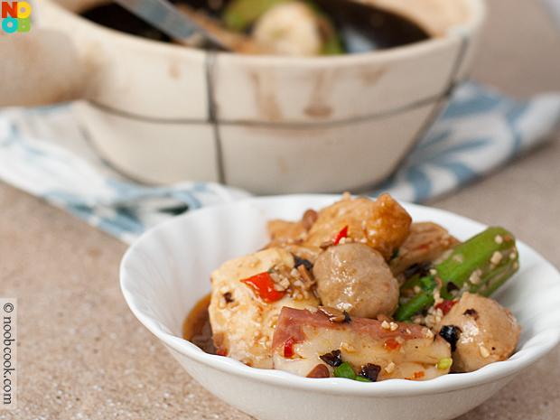 Black Bean Sauce Yong Tau Foo