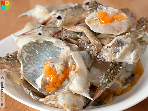 Cooking Taucheo Flower Crabs
