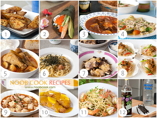 Favourite Recipes of 2011