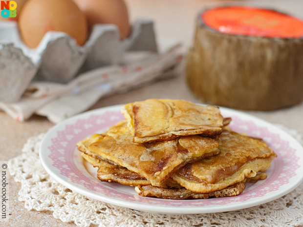 Nian Gao with Egg
