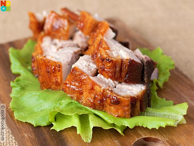 Crispy Roast Pork Belly Recipe | Siu Yuk Recipe
