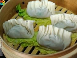 steaming jiao zi