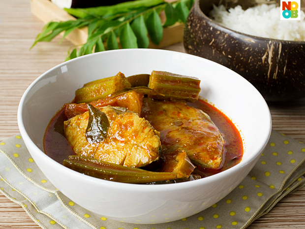 Assam fish curry recipe