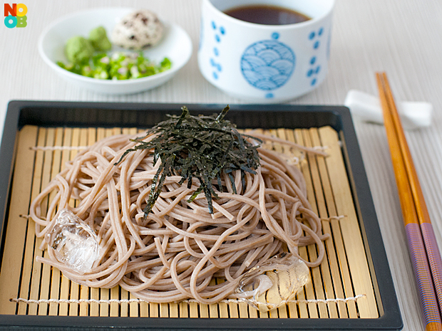Zaru Soba (Japanese Cold Noodles) Recipe | NoobCook.com