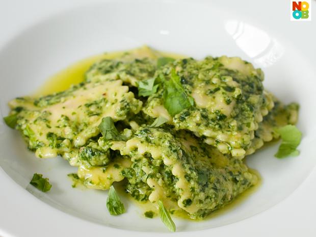 Ravioli Pesto Recipe