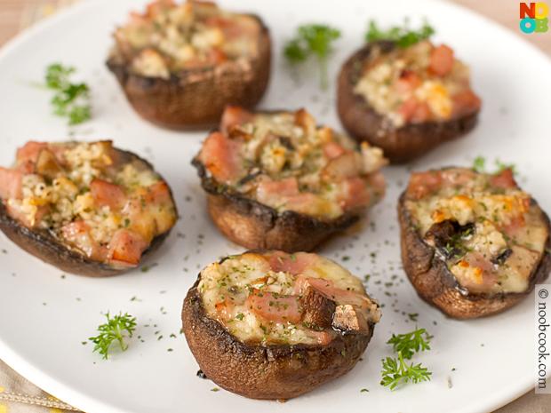 Baked Portobello Mushrooms