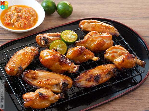 honey baked wings