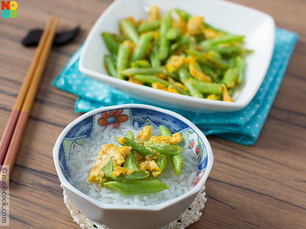 French Beans with Egg