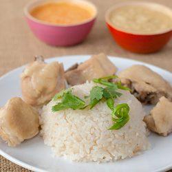 Rice Cooker Chicken Rice