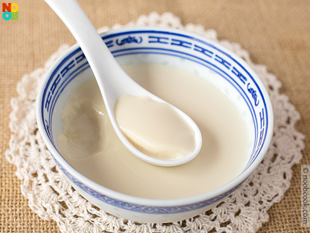 chilled soya beancurd