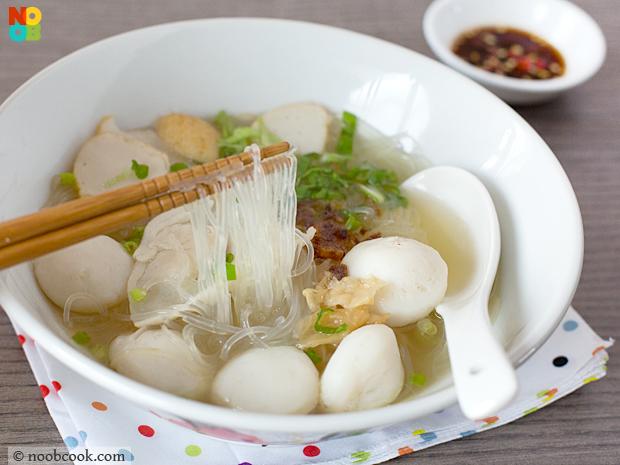 tang hoon fish ball soup