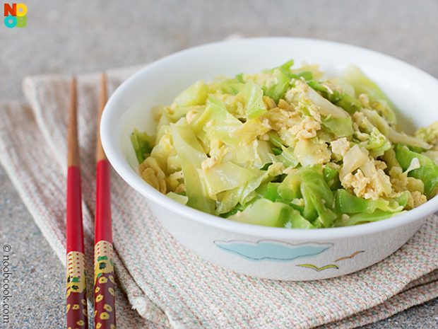 Cabbage with Eggs