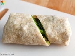 How to wrap a tortilla