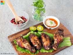 Black Pepper Chicken Wings