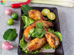 Tom Yum Chicken Wings